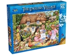Holdson - 500 XL piece English Village 2 - A Picnic for Bears-jigsaws-The Games Shop