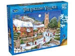 Holdson - 500 XL piece English Village 2 - Starry Night-jigsaws-The Games Shop