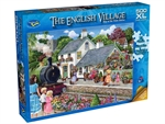 Holdson - 500 XL piece English Village 2 - Stop at the Train Station-jigsaws-The Games Shop