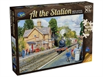 Holdson - 500 XL piece At the Station - Hampton Loade on Severn Valley Railway-jigsaws-The Games Shop