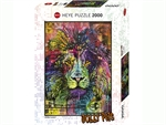 Heye - 2000 piece Jolly Pets - Lion's Heart-jigsaws-The Games Shop