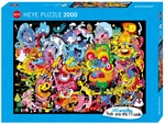 Heye - 2000 piece Burgerman - New Psychedoodlic-jigsaws-The Games Shop