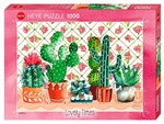 Heye - 1000 piece Lovely Times - Cactus Family-jigsaws-The Games Shop