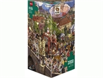 Heye - 2000 piece Gobel & Knorr - Street Parade-jigsaws-The Games Shop