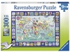 Ravensburger - 300 piece - Looking at the World-jigsaws-The Games Shop