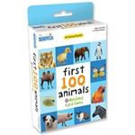 First 100 Animals Matching Game-card & dice games-The Games Shop