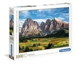 Clementoni - 1000 piece - The Coronation of the Alps-jigsaws-The Games Shop