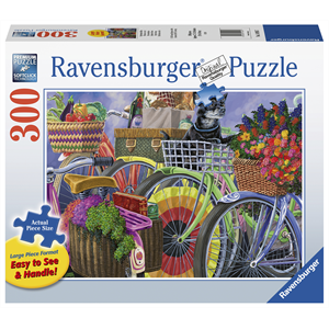 Ravensburger - 300 piece Large Format - Bicycle Group