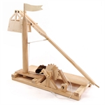 Loenardo Da Vinci Kit - Trebuchet-construction-models-craft-The Games Shop