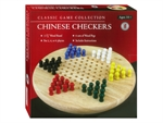 "Chinese Checkers - 11.5"" Wooden Board with Pegs-board games-The Games Shop"