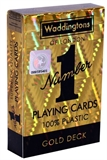 Playing Cards - Single Deck Gold Waddingtons-card & dice games-The Games Shop
