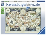 Ravensburger - 1500 piece - World Map of Fantastic Beasts-jigsaws-The Games Shop