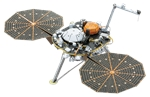 Metal Earth - Insight Mars lander-construction-models-craft-The Games Shop