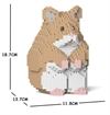 Jekca Sculpture - Hamster-construction-models-craft-The Games Shop