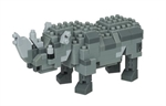 Nanoblock - Small Rhinoceros-construction-models-craft-The Games Shop