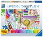 Ravensburger - 500 Piece Large Format - Needlework Station-jigsaws-The Games Shop