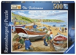 Ravensbvurger - 500 Piece - The Fisherman-jigsaws-The Games Shop