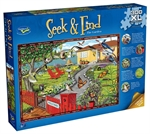 Holdson - 300xl Piece Seek and Find - The Garden-jigsaws-The Games Shop