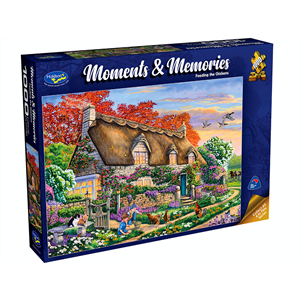 Holdson - 1000 Piece Moments and Memories 2 - Feeding the Chickens