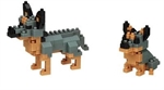 Nanoblock - Small Cattle Dogs-construction-models-craft-The Games Shop