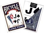 Bicycle - Large Print Bridge Size-card & dice games-The Games Shop