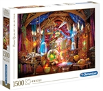Clementoni - 1500 Piece - Wizards Workshop-jigsaws-The Games Shop