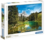 Clementoni - 1500 Piece - Blue Lake-jigsaws-The Games Shop