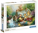 Clementoni - 1500 Piece - Country Retreat-jigsaws-The Games Shop