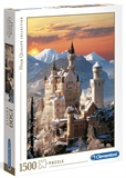 Clementoni - 1500 Piece - Neuschwanstein-jigsaws-The Games Shop