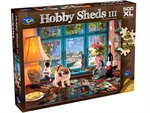 Holdson - 500 XL Piece Hobby Sheds 3 - The Puzzlers Nook-jigsaws-The Games Shop