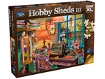Holdson - 500 XL Piece Hobby Sheds 3 - The Sewing Shed-jigsaws-The Games Shop