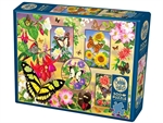 Cobble Hill - 500 Piece - Butterfly Magic-jigsaws-The Games Shop