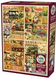 Cobble Hill - 2000 Piece - The Four Seasons-jigsaws-The Games Shop