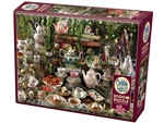 Cobble Hill - 2000 Piece - Mad Hatter's Tea Party-jigsaws-The Games Shop