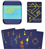 Waterproof Playing Cards in Tin-card & dice games-The Games Shop