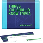 Thing's You Should Know Trivia-board games-The Games Shop