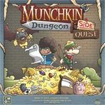 Munchkin - Dungeon Side Quest Expansion-card & dice games-The Games Shop