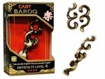 Hanayama Cast Puzzle - Level 4 Baroq-mindteasers-The Games Shop