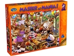 Holson - 1000 Piece Master of Mania - Chef Mania-jigsaws-The Games Shop