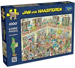 Holson - 1000 Piece Jan Van Haasteren - The Library-jigsaws-The Games Shop