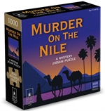 Bepuzzled Mystery Jigsaw - Murder on the Nile-jigsaws-The Games Shop