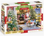 Clementoni - 500 Piece Scratch Off - Christmas-jigsaws-The Games Shop