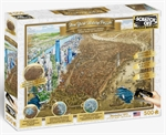 Clementoni -500 Piece Scratch Off - New York-jigsaws-The Games Shop