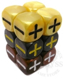 Fudge Dice - Metalic Look-card & dice games-The Games Shop