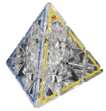 Meffert's - Crystal Pyraminx-mindteasers-The Games Shop