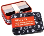 Film & TV Quiz in a Tin-board games-The Games Shop
