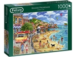 Falcon - 1000 Piece - Seaside Promenade (made by Jumbo)-jigsaws-The Games Shop