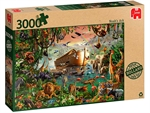 Jumbo - 3000 Piece - Noah's Ark-jigsaws-The Games Shop