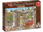 Jumbo - 1000 Piece - Pieces of History Romans-jigsaws-The Games Shop