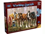Holdson - 500 XL Piece Working Legends - Can I Come Too?-jigsaws-The Games Shop